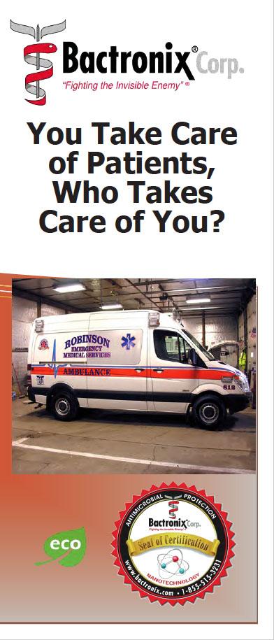 Disinfecting Ambulances and Emergency Vehicles