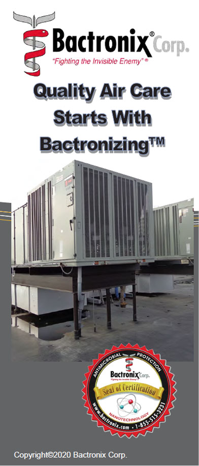 Disinfecting and sanitizing Air conditioning and heating units