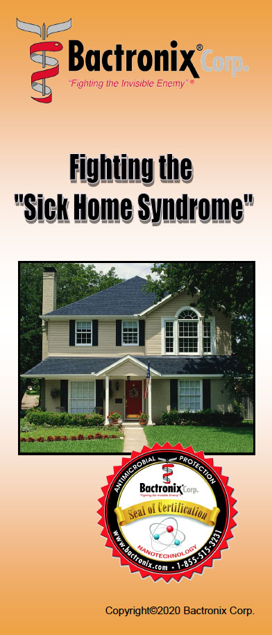 Fighting the Sick Home Syndrome - Sanitizing, disinfecting and deodorizing