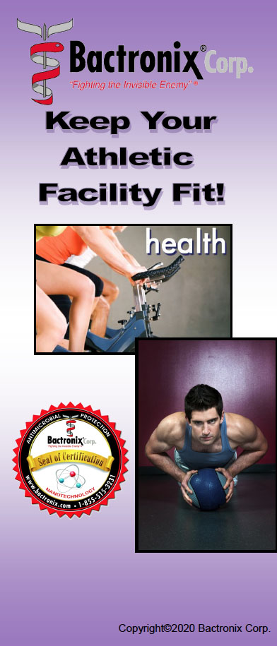 Sanitizing Athletic Facilities - Gyms and Spas