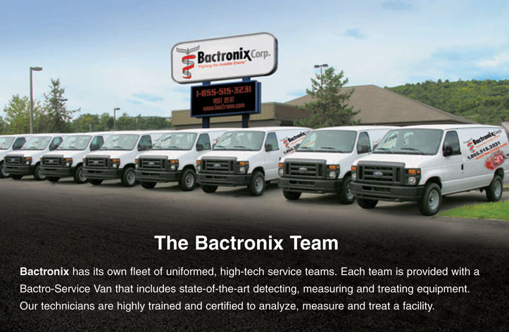 Disinfecting Company - Mold Removal - Duct Work Cleaning - The Bactronix Team